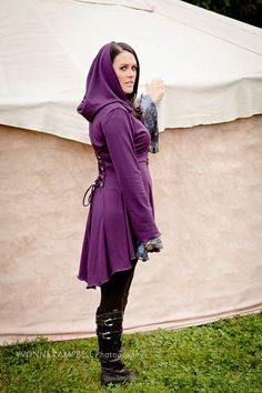 (Fairy  pixie steampunk cloak jacket hoody by FayeTalitycouture, $85.00)
