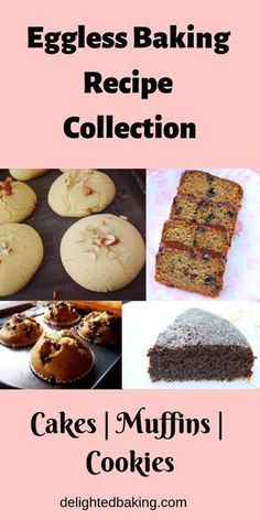 Easy and healthy eggless baking recipes. If you are looking for step by step egg… Easy and healthy eggless baking recipes. If you are looking for step by step egg free baking recipes, then do refer to this collection of recipes. Eggless Bread Recipe, Eggless Cookie Recipes, Eggless Desserts, Eggless Baking, Baking Recipes, Eggless Muffins, Egg Free Bread Recipe, Oven Recipes, Mini Desserts