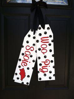 Front Door Decoration  Door Hanger  Arkansas by TaggedWithLove1, $30.00