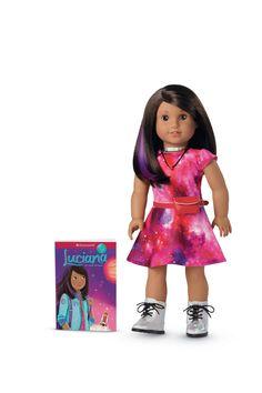 American Girl's Doll of the Year, Luciana Vega!! @American_Girl