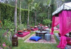 Lounge para bodas exóticas