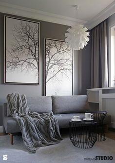 przytulny pokój-projekty, zdjęcie - zdjęcie od MIKOŁAJSKAstudio - Salon - Styl Rustykalny - MIKOŁAJSKAstudio