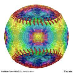 Tie Dye Sky Softball
