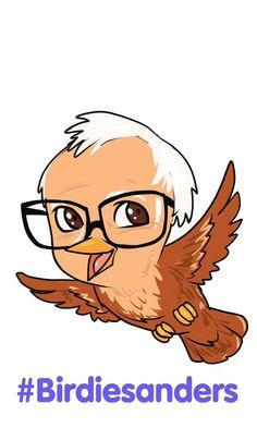 #BirdieSanders appeals to all artists who #FeelTheBern via @joephillipsart  ( https://twitter.com/joephillipsart/status/714381308156203008 )