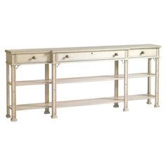 Check out this item at One Kings Lane! Brighton Console, Light Gray