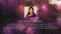 Ms. Preetha Reddy will be IMA Conclave 2014 to grace the occasion and speak on the topic of the day!  Register yourself for #IMAConclave14 today Visit :- www.imaconclave.com