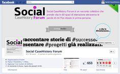 http://www.facebook.com/SocialCHForum  Social CaseHistory Forum è un racconto collettivo che prende vita in 60 spazi di interazione attraverso le parole di chi l'ha vissuto in prima persona.