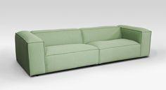Dunbar 3-Seat Febrik Sprinkles Parakeet by Fest Amsterdam made in Netherlands on CROWDYHOUSE #furniture #design #sofa