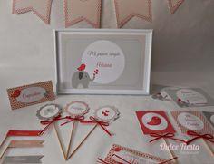 Kit de decoración personalizada Elefante #fiestasinfantiles