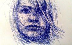 pen portrait by razor_nl, via Flickr