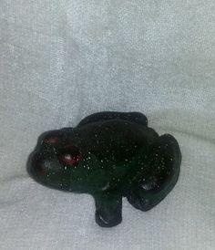 Antique Cast Iron Frog Primitive Garden Doorstop Toad Sculpture