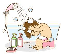 Take a shower Shower Time, Take A Shower, Teaching Kids, Kids Learning, Play School Activities, Micro Creche, School Clipart, Baby Clip Art, Preschool Worksheets