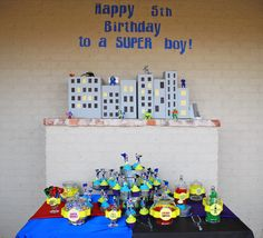 """Photo 2 of 19: Heroes vs. Villains / Birthday """"A Super 5th Birthday"""" 