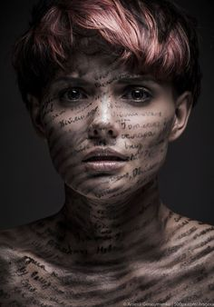 Vanishing words by Arsenii Gerasymenko. Portrait