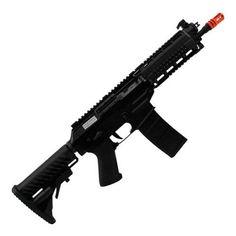 Rifle de Airsoft Sig 556 Shorty Full Metal Blowback Cal 6.0m King Arms em 6x s/juros de R$ 444,17 ou R$2398,50 à vista no boleto bancário
