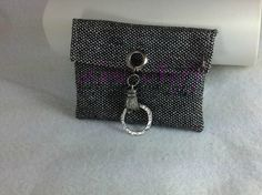 business card holder made from a thirty one swatch