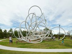 awesome! play sculpture suppose design spaghetti playground2