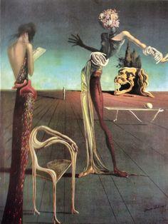 La donna con testa di rose Salvador Dalì