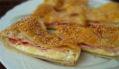 Zapečený camembert v listovém těstě Kefir, Croissant, Cookie Dough, Goodies, Food And Drink, Breakfast, Ethnic Recipes, Sweet Like Candy, Morning Coffee