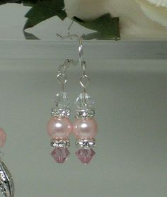 Image Detail for - Handmade Swarovski Crystal and Pearl Beaded Jewelry at Two Angel ...