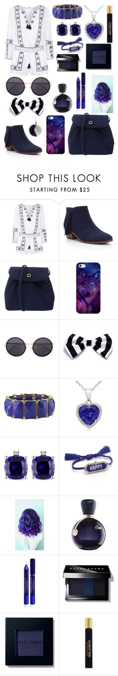 """""""Untitled #122"""" by afreen1984 ❤ liked on Polyvore featuring Denim & Supply by Ralph Lauren, Sam Edelman, Casetify, Linda Farrow, 1928, Miadora, Shourouk, Lacoste, By Terry and Bobbi Brown Cosmetics"""