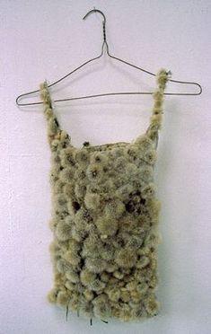 Weird soft moss like fabric/ idea for textures/ fabrics