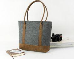 Hebben. Felt Purse Messenger Bag Hand Bag Handbag Shoulder door Filzkraft, $59.00