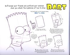 The Simpsons Original Model Sheets http://www.iamag.co/features/the-simpsons-original-model-sheets/