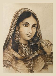 Learn how Nur Jahan rose to become the defacto ruler of Mughal empire in the later years of Jahangir. Mughal Paintings, Indian Paintings, Abstract Paintings, Art Paintings, Indian Traditional Paintings, History Of India, History Pics, Mughal Architecture, Vintage India