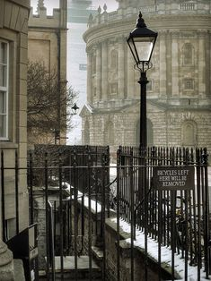 The Radcliffe Camera, Oxford - England