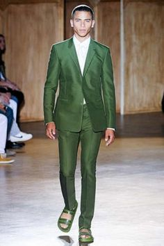 higher button, wider lapel, and still slimming. love me some Givenchy