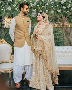 inspo pakistani Zainab Abbas has tied the knot with Hamza Kardar Asian Bridal Dresses, Asian Wedding Dress, Pakistani Wedding Outfits, Pakistani Bridal Dresses, Pakistani Wedding Dresses, Pakistani Dress Design, Bridal Outfits, Indian Dresses, Pakistani Clothing