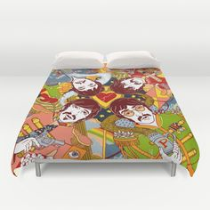 Sgt. Pepper's Lonely Hearts Club Band Duvet Cover