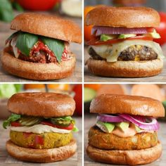 Here's How To Spice Up Your Boring Veggie Burgers