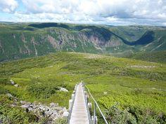 Gros Morne Hike, Gros Morne National Park, Newfoundland and Labrador, Canada