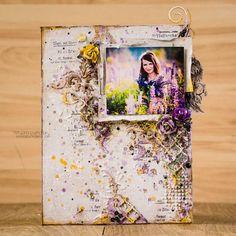 Вензелик: Фіолетове натхнення та майстер-клас... Tanya SonataJoy
