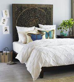 Café com Chá Decoração Criativa | 21 motivos pra você mudar a cabeceira da sua cama.