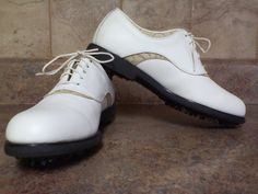 WOMAN'S FOOT JOY EUROPA GOLF SHOES-SIZE: 8N #FOOTJOY #GolfShoes