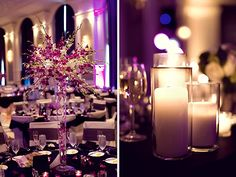 Imagine the candles around the flower vase!