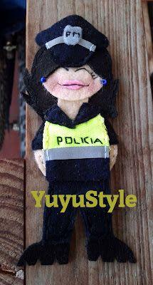 Yuyu Style _ Macramé y más: broches fieltro