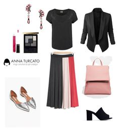 """""""Everyday look"""" by annaturcato ❤ liked on Polyvore featuring LE3NO, ASOS and Zara"""