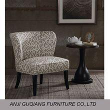 muebles de sala sofá de madera sin brazos silla del sofá sillón de orejas GQ-017