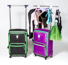 Dance Bag With Garment Rack Beauteous Introducing The Newest Most Innovative Design For Rolling Dance Bags Design Ideas