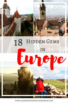 Is Travel one of Your New Year Resolutions? Then Check out These 18 Hidden European Gems for Your 2018!