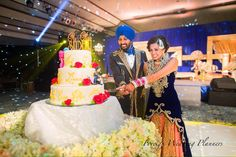 Their smiles are adorable! Portfolio by Foreign Wedding Planners, Delhi Flower Decorations, Wedding Decorations, Indian Wedding Outfits, Wedding Planners, Backdrops, Birthday Cake, Flowers, Floral Decorations, Birthday Cakes