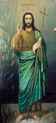 icon Saint John the Baptist oca_ottawa_trinity_xx_st. Best Icons, Orthodox Christianity, John The Baptist, Orthodox Icons, All Saints, Princess Zelda, Saint John, Painting, Fictional Characters