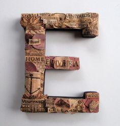 Wine cork art - Wall E