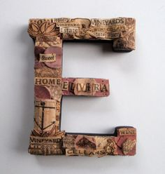 Wine cork art - Wall E