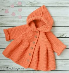 Crochet Bunny Pattern, Cute Crochet, Crochet For Kids, Sweater Mittens, Knit Baby Sweaters, Baby Girl Crochet, Crochet Baby Clothes, Baby Sweater Patterns, Baby Knitting Patterns