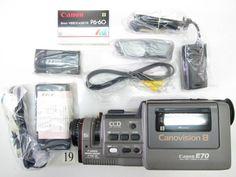SO930JB CANON E77 + AK-E7 ビデオキットセット ジャンク_CANON E77 + AK-E7 ビデオキットセット